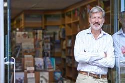 Portrait of Bookshop Owner