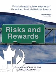 Ontario Infrastructure Investment: Federal and Provincial Risks and Rewards