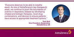 Leading the Way in Respiratory Medicine: Tosh Butt, Vice President, US Respiratory, AstraZeneca