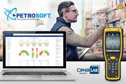 Integration of Petrosoft's C-Store Office and CipherLab's Inventory Scanning Solution