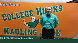 College Hunks Hauling Junk and Moving franchise owner Morgan Parker
