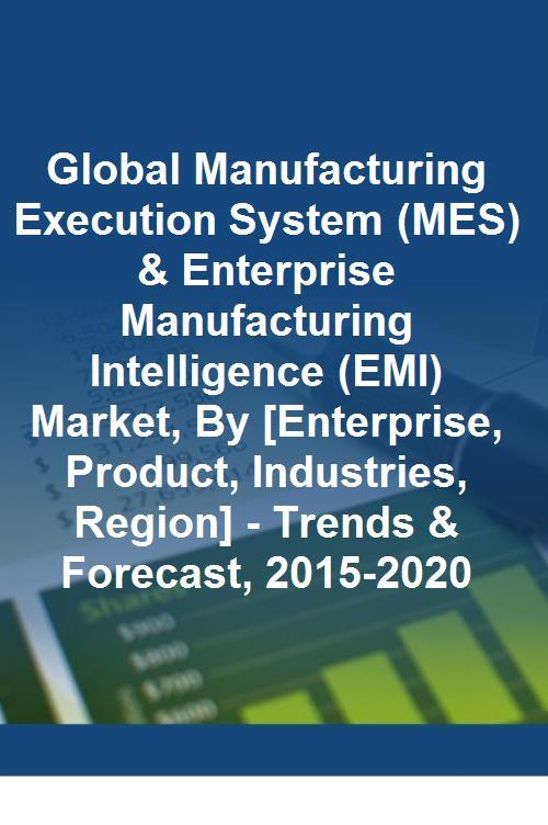 Global Manufacturing Execution System Mes Amp Enterprise