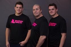 Dallas Hart, Bret Hart and Blade Hart