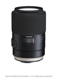 Tamron SP 90mm f/2.8 Di Macro 1:1 VC USD Lens