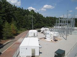 Sentinel Data Centers' NC 100kV Substation