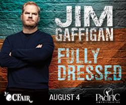 Jim Gaffigan Live at the OC Fair August 4