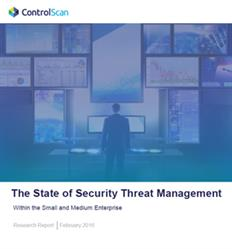 ControlScan Security Threat Management Research Report