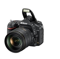 Nikon D750 DSLR Camera with 24-120mm and Popup Flash