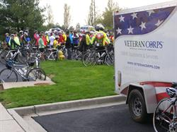 The Veteran Corps trailer at Face of America 2015.