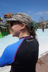 Mayim Bialik in HydroChic UV Swimwear