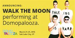 Pop-Rock Superstars, Walk the Moon, Join Roster of High-Energy Entertainment at Domopalooza