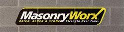 MasonryWorx logo.