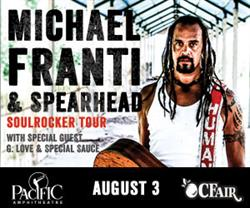 Michael Franti & Spearhead / G. Love & Special Sauce Live at the OC Fair August 3