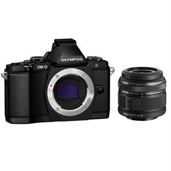 Olympus OM-D E-M5 Elite Mirrorless Micro Four Thirds Digital Camera with 14-42mm Lens (Black)