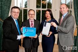 Olenick receives Investors in People Award