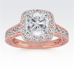 Couture by Shane Co. Rose Gold Engagement Ring