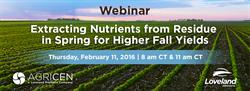 Feb 11 Agricen Nutrient Release Webinar