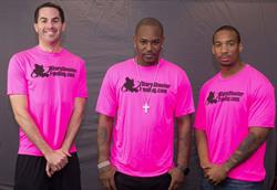 Paul Pitcher, Cam'ron and Courtney Tolson