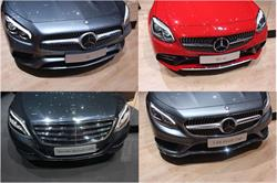 The gang's all here at the Geneva Motor Show! The newly designed Mercedes Benz SL and SLC roadsters, and the S-Class Coupe, Maybach and S-Class Sedan now all offer the MAGIC SKY CONTROL panoramic variable tint roof using SPD-SmartGlass technology from Research Frontiers