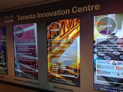 Cisco Innovation Centre Displays