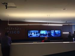 Cisco Innovation Centre Reception Area