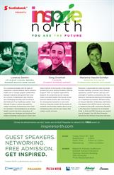 Three Accomplished Business Leaders to Speak at INSPIRE North's Schulich School of Business Event