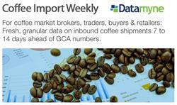 Datamyne Coffee Import Weekly Image