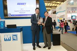 KEMET Wins 2015 TTI Asia Supplier Excellence Award