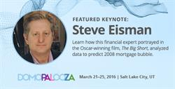 Steve Eisman, Inspiration for Steve Carell's Character in 'The Big Short,' to Keynote Domopalooza