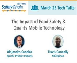Alejandro Canelos & Travis Connally to Discuss the Impact of Food Safety & Quality Mobile Technology