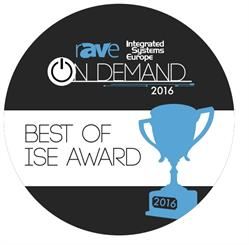 22Miles Wins 2016 Best of ISE Digital Signage Software Interface Award