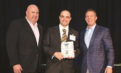 Stan Bikulege, Chairman of FPA Board of Directors, Jim Costello, Director of Operations - Glenroy, and Ken Swanson, FPA Immediate Past Chairman