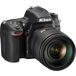 Nikon D750 DSLR with 24-120mm Lens
