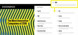 Fast Company Ranks D2L #6 on the Most Innovative Companies of 2016 List in the Data Science Category