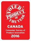The Product of the Year Canada logo.