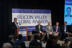 Global Expansion Panel: (left to right) moderator, Rich Moran, John O'Farrell, Craig Hinckley, Mike Dennison, and Patrick Manders