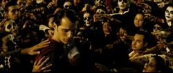 Batman v Superman crowd