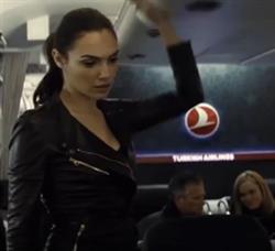 Batman v Superman Turkish Airlines Gal Gadot