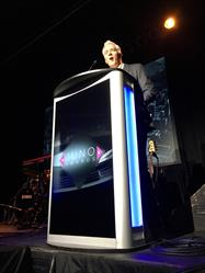 Allan Reid, the President and CEO of CARAS (The Canadian Academy of Recording Arts and Sciences) where he thanked the 2016 sponsors.