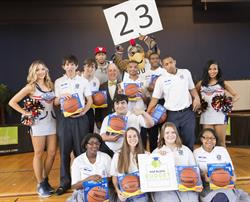 H&R Block and NBA Star Anthony Davis Celebrate Students Mastering Personal Finance