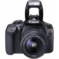Canon T6 EOS Rebel DSLR with Flash