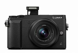 Panasonic - Lumix DMC-GX85 Mirrorless Micro Four Thirds Digital Camera with 12-32mm Lens