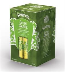 New Seagram Green Grape