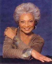 Nichelle Nichols, who played Uhura in Star Trek: The Original Series, is a featured guest of the Apollo 11 Anniversary Gala with Buzz Aldrin hosted by George Takei.