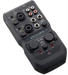 NAB News - Zoom U-24 Portable Audio Interface