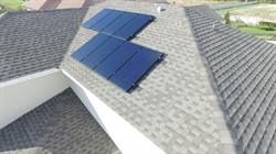 Meritage Homes and Sunpower roof PVC solar panels
