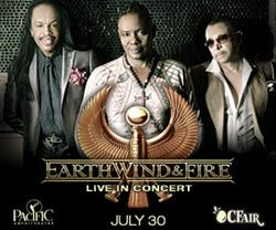Earth, Wind & Fire Perform Live at the OC Fair July 30