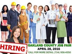 Michigan Job Fair April 28, 2016