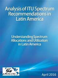 Analysis of ITU Spectrum Recommendations in Latin America
