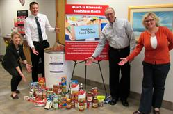 TopLine Federal Credit Union, March FoodShare, Credit Union, TopLine, Food Drive